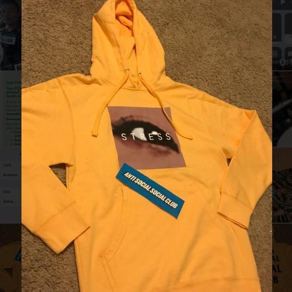 b17be4ec6ea3 Stress hoodies anti social social clubs